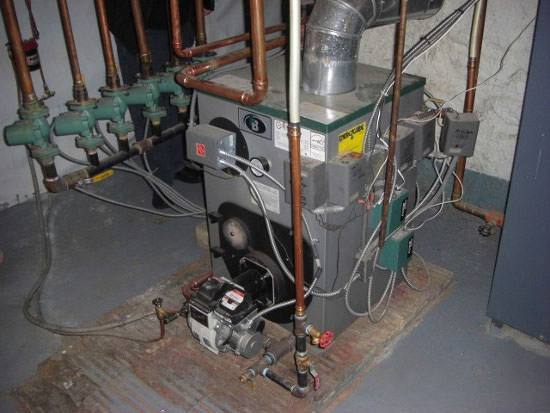 Oil boiler installation in ogdensburg potsdam watertown for New heating system